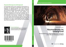 Borítókép a  Raumordnung im Untergrund - hoz