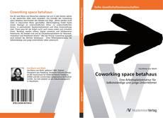 Buchcover von Coworking space betahaus
