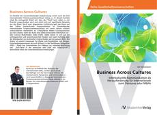 Couverture de Business Across Cultures