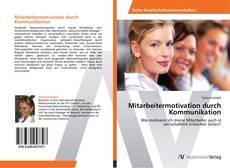 Capa do livro de Mitarbeitermotivation durch Kommunikation
