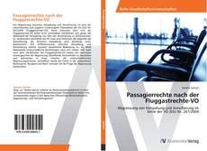 Passagierrechte nach der Fluggastrechte-VO的封面