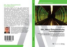 """Die """"Neue Österreichische Tunnelbauweise"""" kitap kapağı"""