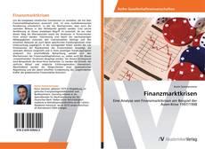 Buchcover von Finanzmarktkrisen
