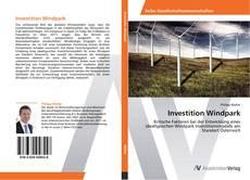 Portada del libro de Investition Windpark