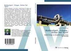"Обложка BioKernSprit - Trilogie - Dritter Teil ""Sprit"""