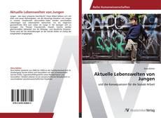 Buchcover von Aktuelle Lebenswelten von Jungen