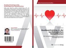 Buchcover von Ausdauertraining in der kardiologischen Rehabilitation