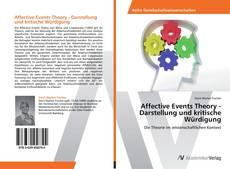 Bookcover of Affective Events Theory - Darstellung und kritische Würdigung