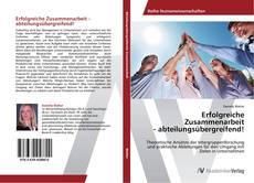 Buchcover von Erfolgreiche Zusammenarbeit - abteilungsübergreifend!