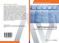 Copertina di High Frequency Trading