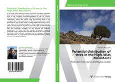 Bookcover of Potential distribution of trees in the High Atlas Mountains