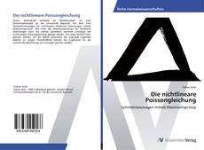 Buchcover von Die nichtlineare Poissongleichung