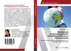 Portada del libro de Modetrend Entwicklungshilfe? Freiwilligendienste in Lateinamerika