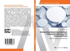 Buchcover von Innovationskommunikation – Herausforderung für Unternehmen