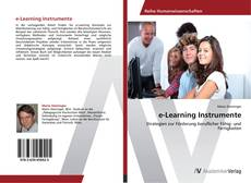 Bookcover of e-Learning Instrumente