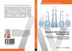 Capa do livro de Internal CEO Reputation Management