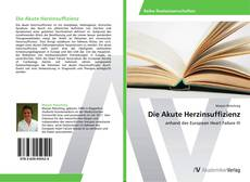 Capa do livro de Die Akute Herzinsuffizienz