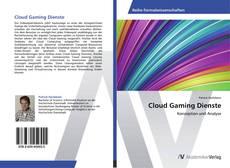 Portada del libro de Cloud Gaming Dienste