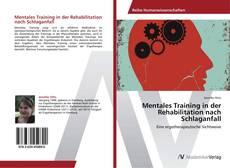 Bookcover of Mentales Training in der Rehabilitation nach Schlaganfall