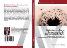 Bookcover of Didaktisch-reflexive Kompetenz in der Erwachsenenbildung