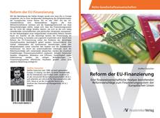 Bookcover of Reform der EU-Finanzierung