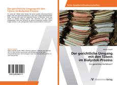 Buchcover von Der gerichtliche Umgang mit den Tätern im Białystok-Prozess