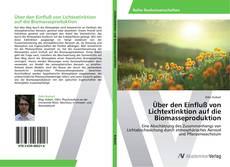 Bookcover of Über den Einfluß von Lichtextinktion auf die Biomasseproduktion