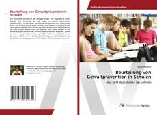 Bookcover of Beurteilung von Gewaltprävention in Schulen