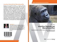 Buchcover von Intuitive Statistik bei Menschenaffen