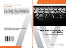 Обложка Private Internetnutzung am Arbeitsplatz