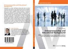 Entrepreneurship and Educational Background的封面