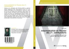 Portada del libro de Intermedialität im Theater des 21. Jahrhunderts