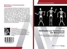 Buchcover von Methoden zur Vermessung der Beinachsen