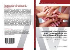 Symptomatische Remission und Lebensqualität von Menschen mit Psychosen kitap kapağı
