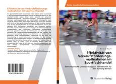 Portada del libro de Effektivität von Verkaufsförderungsmaßnahmen im Sportfachhandel