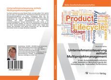Capa do livro de Unternehmenssteuerung mittels Multiprojektmanagement