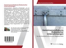 Обложка Gemeinwesendiakonie Diakonischer Unternehmungen