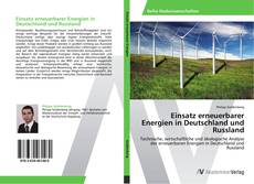 Bookcover of Einsatz erneuerbarer Energien in Deutschland und Russland