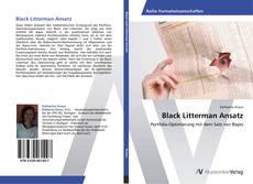 Bookcover of Black Litterman Ansatz