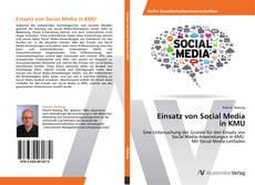 Buchcover von Einsatz von Social Media  in KMU