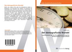 Bookcover of Der demografische Wandel