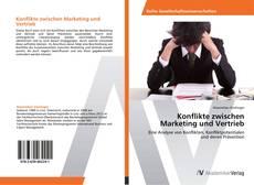 Bookcover of Konflikte zwischen Marketing und Vertrieb