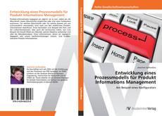 Buchcover von Entwicklung eines Prozessmodells für Produkt Informations Management