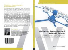 Mediation, Systemtheorie & Konstruktivismus kitap kapağı