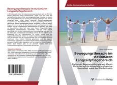 Buchcover von Bewegungstherapie im stationären Langzeitpflegebereich