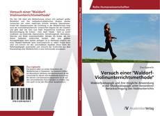 """Couverture de Versuch einer """"Waldorf-Violinunterrichtsmethode"""""""