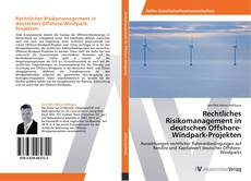 Обложка Rechtliches Risikomanagement in deutschen Offshore-Windpark-Projekten