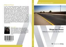 Capa do livro de Wege zur Prosa