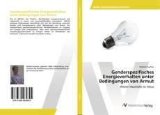 Borítókép a  Genderspezifisches Energieverhalten unter Bedingungen von Armut - hoz