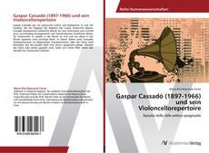 Bookcover of Gaspar Cassadó (1897-1966) und sein Violoncellorepertoire